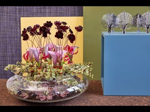 Bloomtube Floral Inspiration How to make an interesting christmas table decoration tutorial