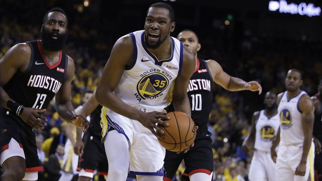 c3b83519e7e Kevin Durant Will Miss Rest of Rockets Series! 2019 NBA Playoffs ...