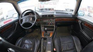 BMW 730i(Демонстрация большинства опций и аксессуаров BMW 7er в кузове E32 на примере моего автомобиля., 2015-12-19T09:15:56.000Z)