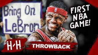 Download LeBron James First NBA Game, Full Highlights vs Kings (2003.10.29) - MUST WATCH Debut! HD Mp3 and Videos