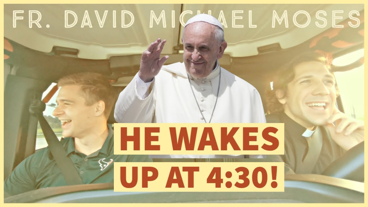I LIVED LIKE POPE FRANCIS FOR A DAY | Priest Vlog