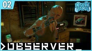 Observer #2 Schreizähler: 1 - Let's Play Observer_ Horror mit Facecam German / Deutsc