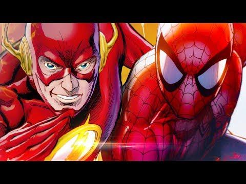Homem-Aranha VS. Flash | Torneio de Titãs Part. VMZ