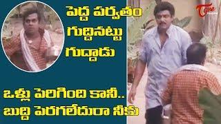 పెద్ద పర్వతం గుద్దినట్టు గుద్దాడు | Telugu Movie Comedy Scenes | TeluguOne