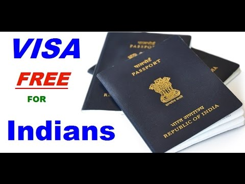 e4a6ea12c34 58 visa free countries for indian passport holders - YouTube