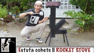 Estufa cohete al estilo #Bestaurador || DIY Rocket Stove