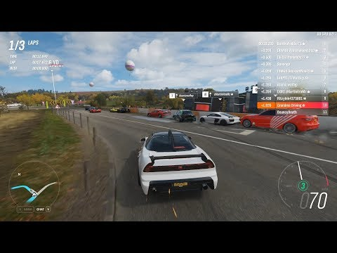 Forza Horizon 4 - The Ultimate NSX | 9000RPM Honda NSX-R GT in S1-Class! [Solo Ranked] thumbnail