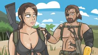 MGS V фултоная боль MGS 5 The Phantom Pain parody rus