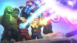 Lego Avengers Infinity War Full Wakanda Titan Battle Lego Stop Motion