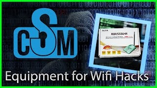 Equipment for WiFi Hacking (Cyber Security Minute)