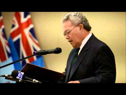 Signing of Maritime boundary   Tuvalu PM