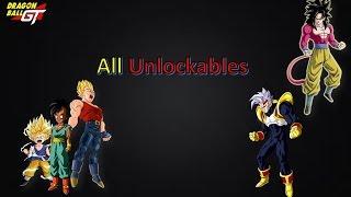 Dragon Ball GT: Transformation : Bonus Video - All Unlockables