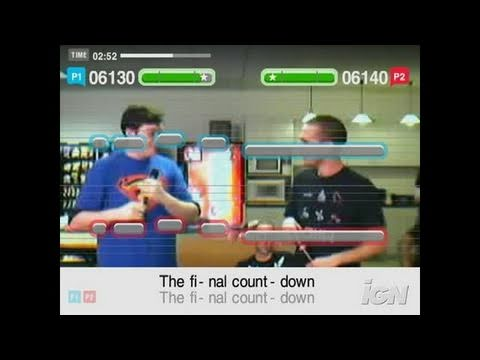 SingStar '80s PlayStation 2 Gameplay - Greg and