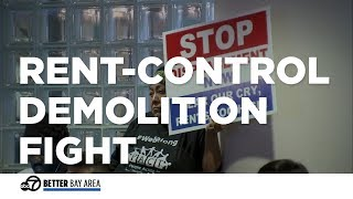 Bay Area residents upset about possible demolition of rent-controlled apartments