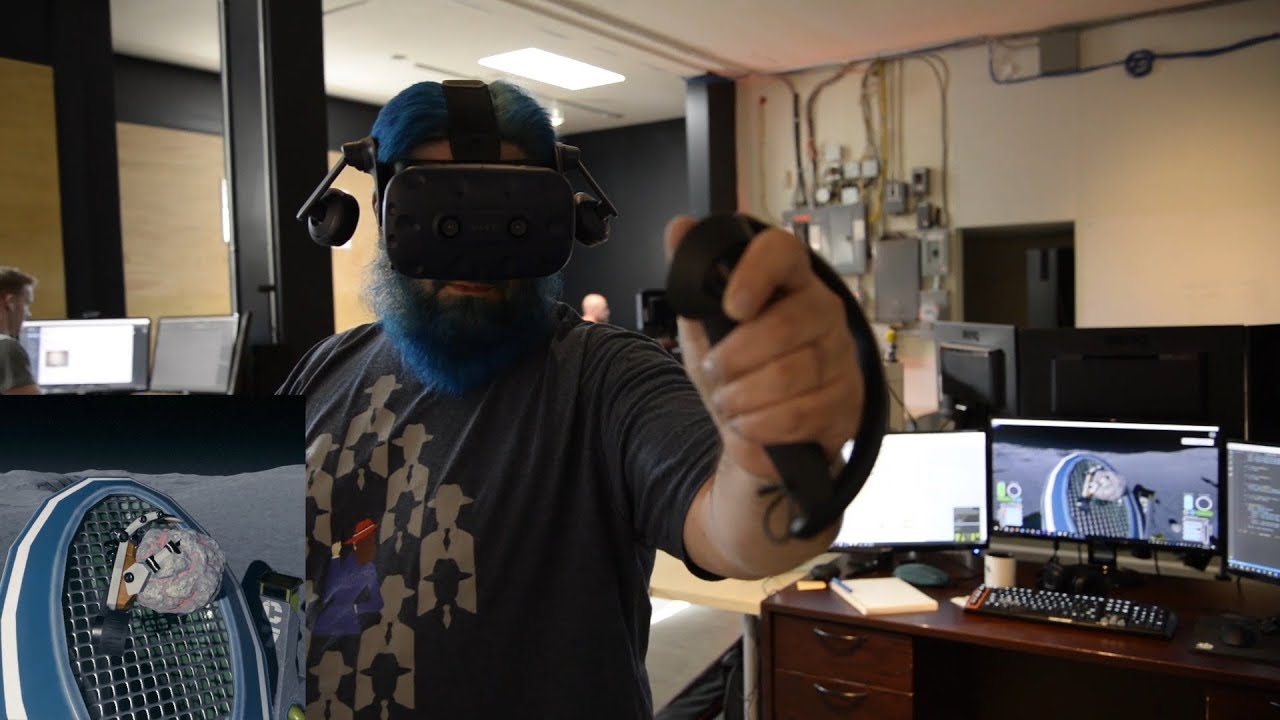 SteamVR Knuckles EV2 - Moondust Demo Gameplay and Commentary (Valve Index  Controllers)