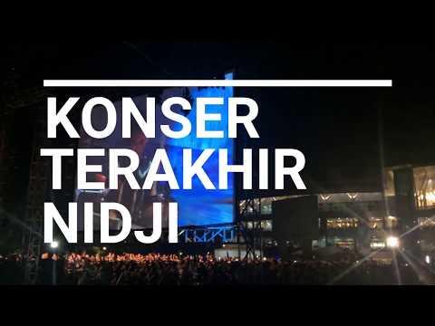 Konser terakhir nya Nidji dan menjawab Bubar nya Nidji (siap siap sedia tissue) 😭😭😭