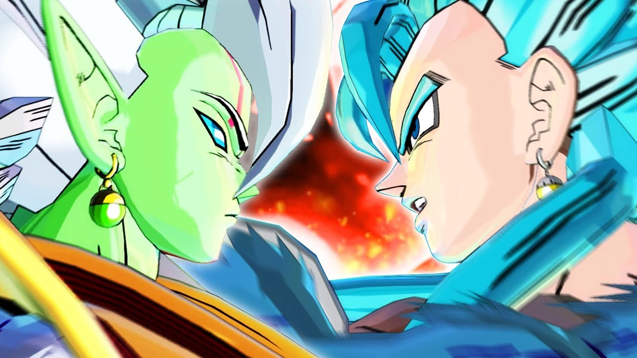 Goku And Vegeta Wallpaper Hd Ssj4 Baby Merged Zamasu Vs Ssgss4 Vegito Dragon Ball