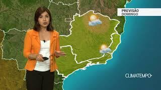 Previsão Sudeste – Calor e pancadas de chuva