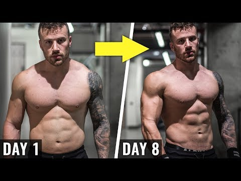 How I Get SHREDDED In 30 Days (FULL DAY + TIPS)