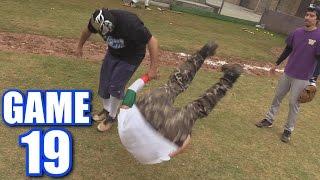 WRESTLING! | Offseason Softball League | Game 19