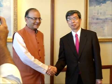 Asian Development Bank head meets India's finance minister