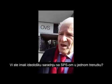 Dragoljub Mićunović o mogucoj saradnji sa SNS-om!