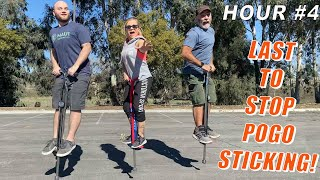 Last To Stop Pogo Sticking, Wins $10,000!