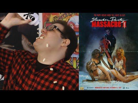 Slumber Party Massacre II (1987) - Blood Splattered Cinema (Horror Movie Review)