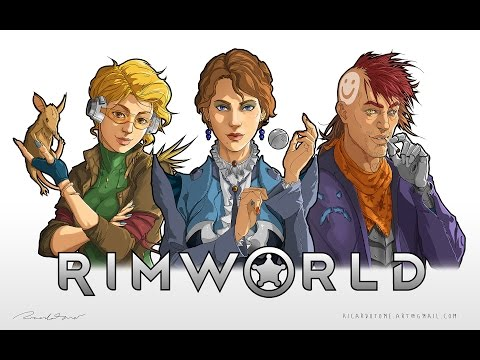 RimWorld OST Music Mix - Calm Western Instrumental Ambient Sci-Fi Cowboy Guitar Music
