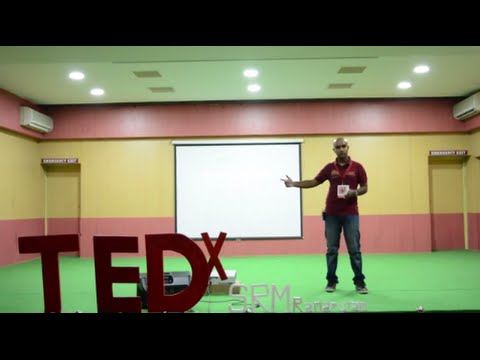 Teaching Kids through Football | Aaron Thomas | TEDxSRMRamapuram