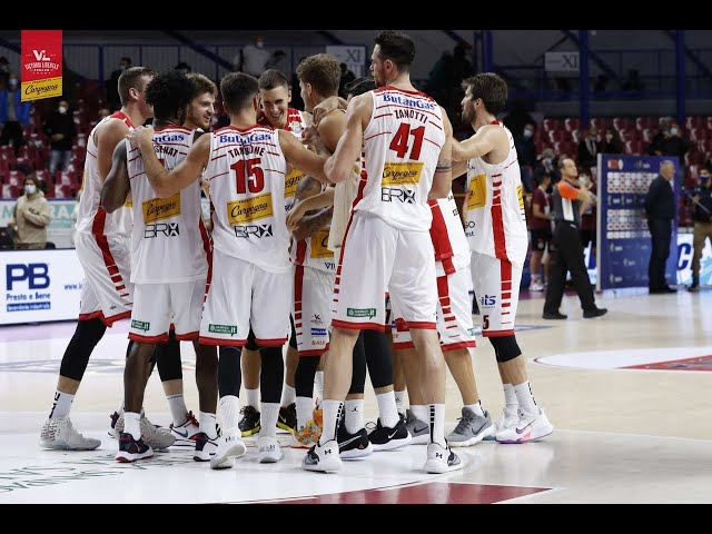 [FullMatch] Umana Reyer Venezia - Carpegna Prosciutto Basket Pesaro: 72-90