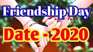 Friendship Day Date 2020   मित्रता दिवस 2020 में कब है      shankar astrology