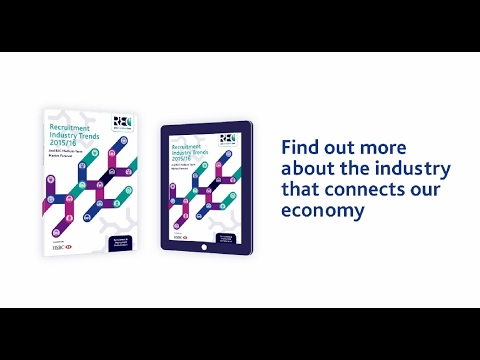 What does the recruitment industry do for the UK economy?