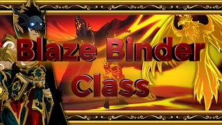 AQW - Blaze Binder Class Guide