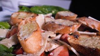 Салат + соус Цезарь. Полный рецепт