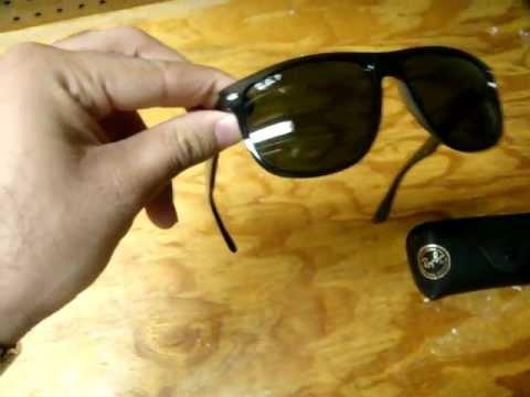 91ad752b244 Ray-Ban RB4147 601 58 Polarized Sunglasses Unboxing - YouTube