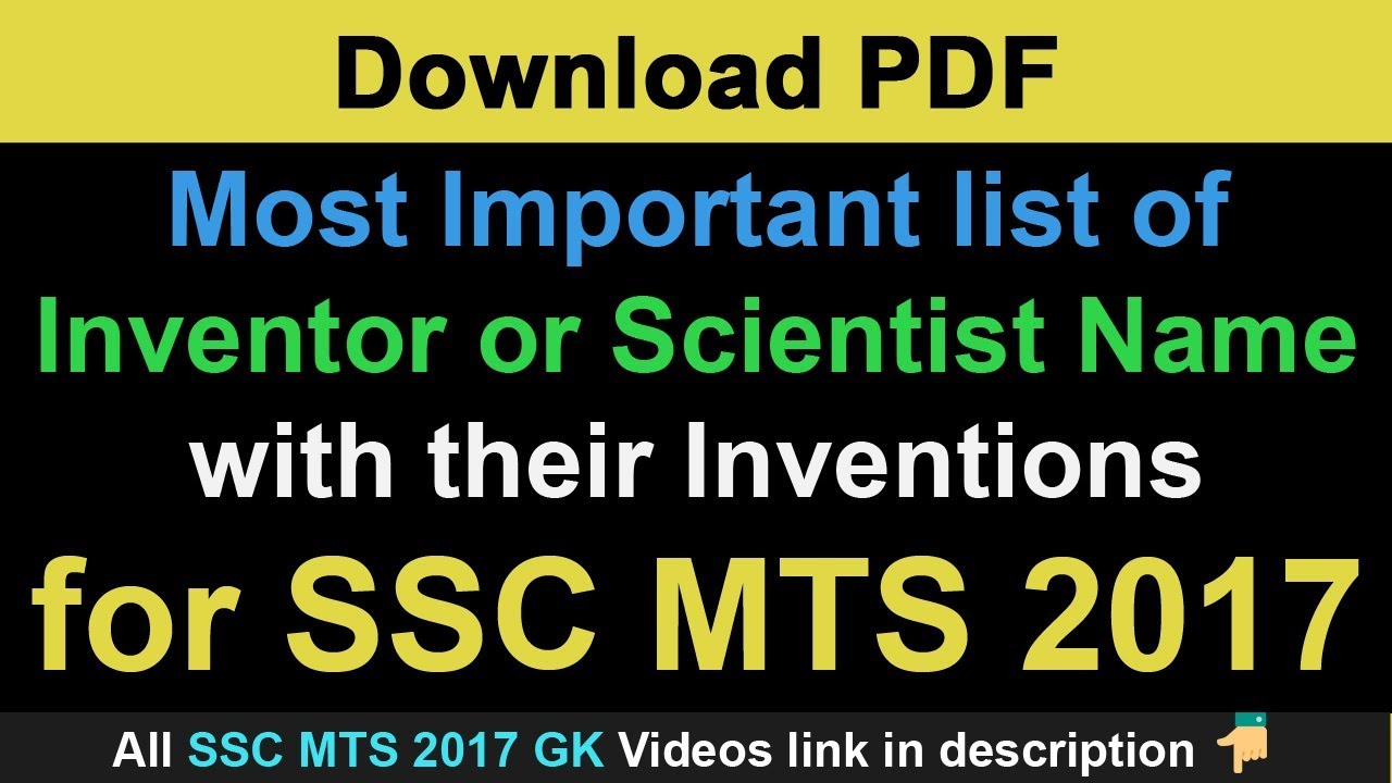 Scientists And Inventions Pdf