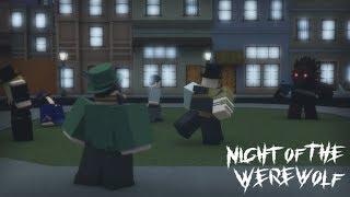 I AM A WEREWOLF! Roblox - Night Of The WereWolf.