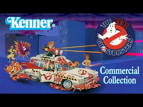 Real Ghostbusters Kenner Toy Commercial Compilation