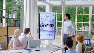 "Lavagna interattiva multimediale Samsung FLIP 55"""
