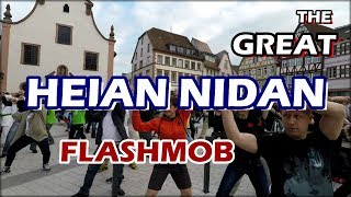 The Great Heian Nidan Flashmob by Ryozanpaku Dojo