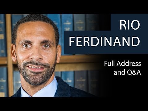 Rio Ferdinand | Full Address & Q&A | Oxford Union