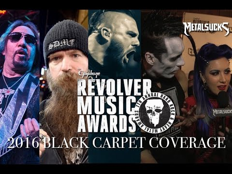 Revolver Music Awards 2016 Black Carpet Report, with The Necrosexual | MetalSucks