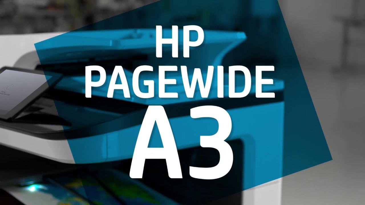 Les imprimantes HP PageWide A3 - Rapides, efficaces, la couleur à prix abordable.