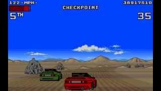 Lotus Turbo Challenge 2 Longplay (Amiga) [50 FPS]