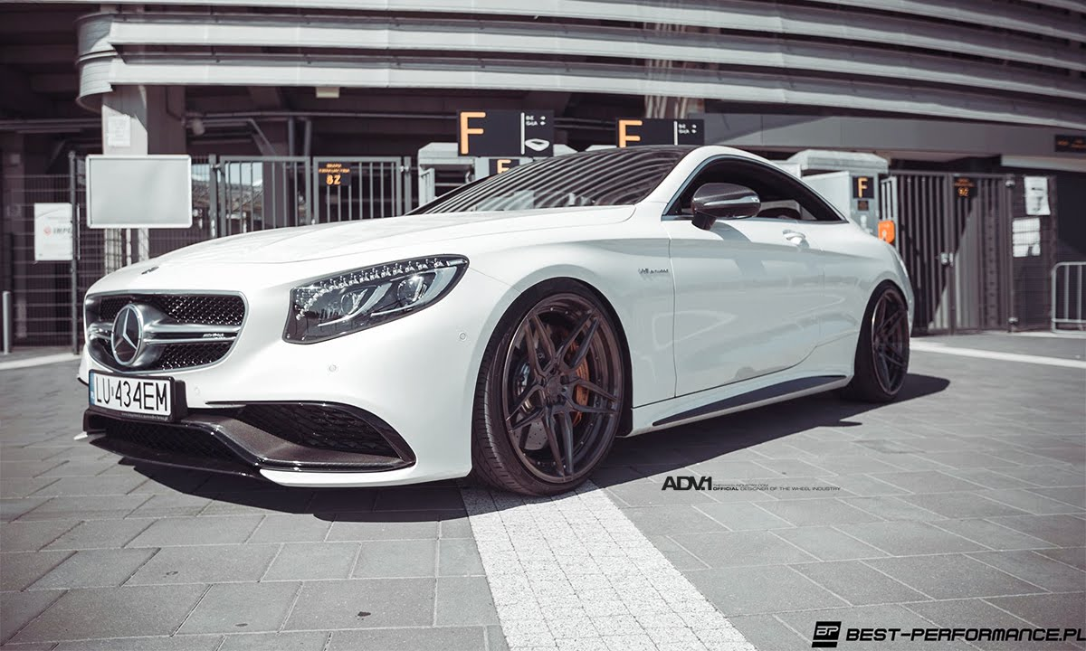 Mercedes S63 Amg Coupe >> Brabus x ADV.1 Mercedes Benz S63 AMG Coupe - YouTube