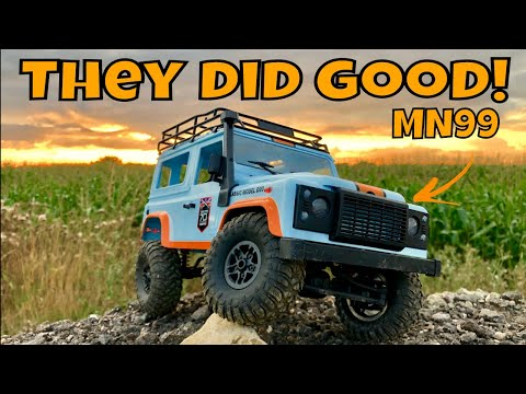 Cheap, Capable RC Land Rover D90! 1/12 MN Models MN99. The Best MN Models So Far!