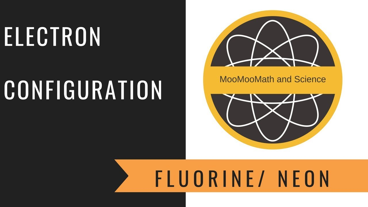 hight resolution of electron configuration fluorine and neon