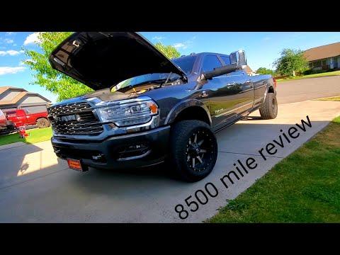 2019 Ram 3500 Cummins. 8500 mile review.