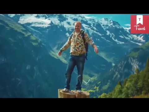 شوف طبيعة سويسرا اتحداك تغلق الفيديو   swiss nature HD